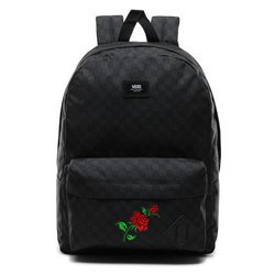 Vans Old Skool III  Backpack - VN0A3I6RBA5 - Custom Red Roses