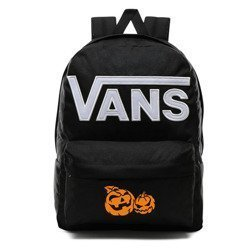 Vans Old Skool III Backpack - VN0A3I6RY28 - Custom Halloween Pumpkins (orange)