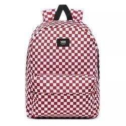 Vans Old Skool III Burgundy White Check Backpack - VN0A3I6R9761
