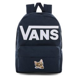 Vans Old Skool III Dress Blues-White Backpack - VN0A3I6R5S2 - Custom Little Cat