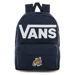 Vans Old Skool III Dress Blues-White Backpack - VN0A3I6R5S2 - Custom Little Tiger