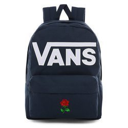Vans Old Skool III Dress Blues-White Backpack - VN0A3I6R5S2 - Custom Rose