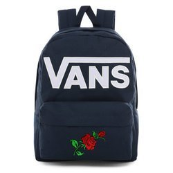 Vans Old Skool III Dress Blues-White Backpack - VN0A3I6R5S2 - Custom Roses