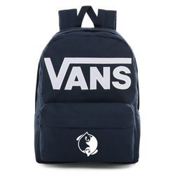 Vans Old Skool III Dress Blues-White Backpack - VN0A3I6R5S2 - Custom Yin Yang Cats