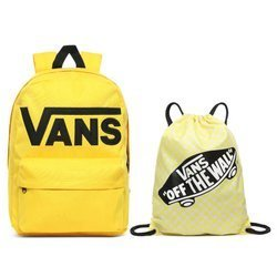 Vans Old Skool III Lemon Chrome Backpack - VN0A3I6R85W + Benched Bag