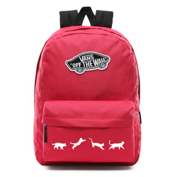 Vans Realm Backpack - VN0A3UI6SQ2 - Custom Cats