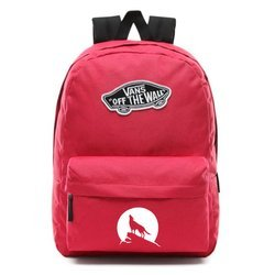 Vans Realm Backpack - VN0A3UI6SQ2 - Custom Wolf