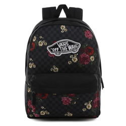 Vans Realm Botanical Check Backpack - VN0A3UI6UWX