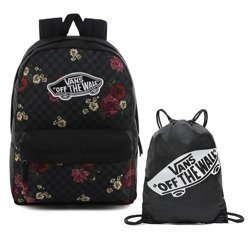 Vans Realm Botanical Check Backpack - VN0A3UI6UWX + Bag