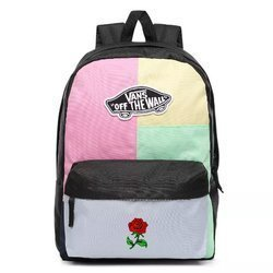 Vans Realm Checkwork Backpack Custom Rose - VN0A3UI6VDK