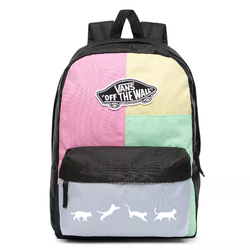 Vans Realm Checkwork Backpack - VN0A3UI6VDK - Custom Cats