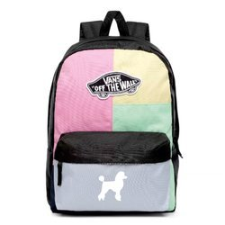 Vans Realm Checkwork Backpack - VN0A3UI6VDK - Custom Poodle