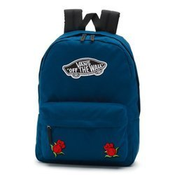 Vans Realm Gibraltar Sea Backpack - VN0A3UI6TTA - Custom Two Red Roses