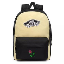 Vans Realm Golden Haze-Black Backpack Custom Rose - VN0A3UI6V5G