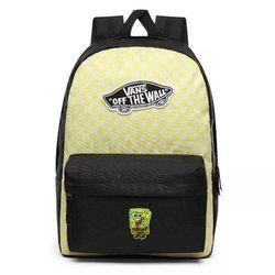 Vans Realm Lemon Tonic Checkerboard Backpack Custom Sponge VN0A3UI6VD7
