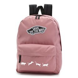 Vans Realm Nostalgia Rose Backpack - VN0A3UI6UXQ - Custom Cats