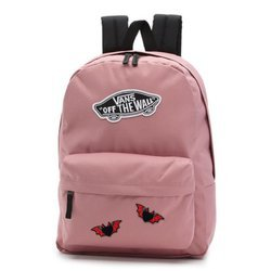Vans Realm Nostalgia Rose Backpack - VN0A3UI6UXQ - Custom Hearts