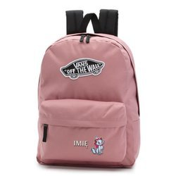 Vans Realm Nostalgia Rose Backpack - VN0A3UI6UXQ - Custom Marie Kitten