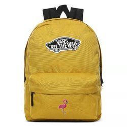 Vans Realm Olive Oil Backpack Custom Flamingo - VN0A3UI6ZLM