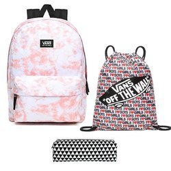 Vans Realm Pink Icing + Pancil Pouch