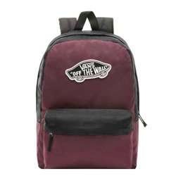 Vans Realm Prune Purple Black Backpack - VN0A3UI6TQR
