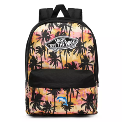 Vans Realm Sunset Palms Backpack Custom Dolphin - VN0A3UI6NID