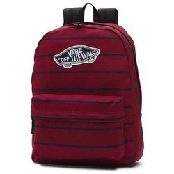Vans Realm Tibetan Red Backpack - VN000NZ0O3X