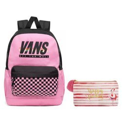 Vans Sporty Realm Plus Backpack - VN0A3PBIV5C + Pencil Pouch