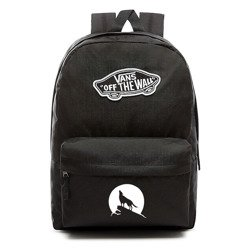 VANS Realm Backpack | VN0A3UI6BLK - Custom Wolf