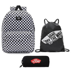 Vans Old Skool III Backpack - VN0A3I6RHU0 + Benched Bag + Pencil Pouch