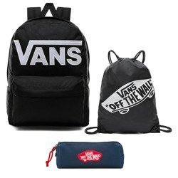 Vans Old Skool III Backpack - VN0A3I6RY28 + Pancil Pouch + Bag