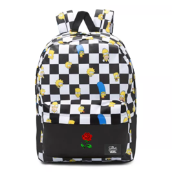 Vans Old Skool III The Simpsons Backpack Custom Rose - VN0A3I6RZZZ