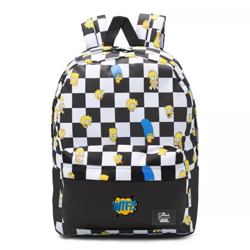 Vans Old Skool III The Simpsons Backpack Custom WTF - VN0A3I6RZZZ