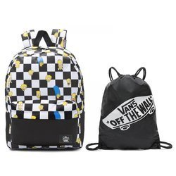 Vans Old Skool III The Simpsons Backpack VN0A3I6RZZZ + Benched Bag