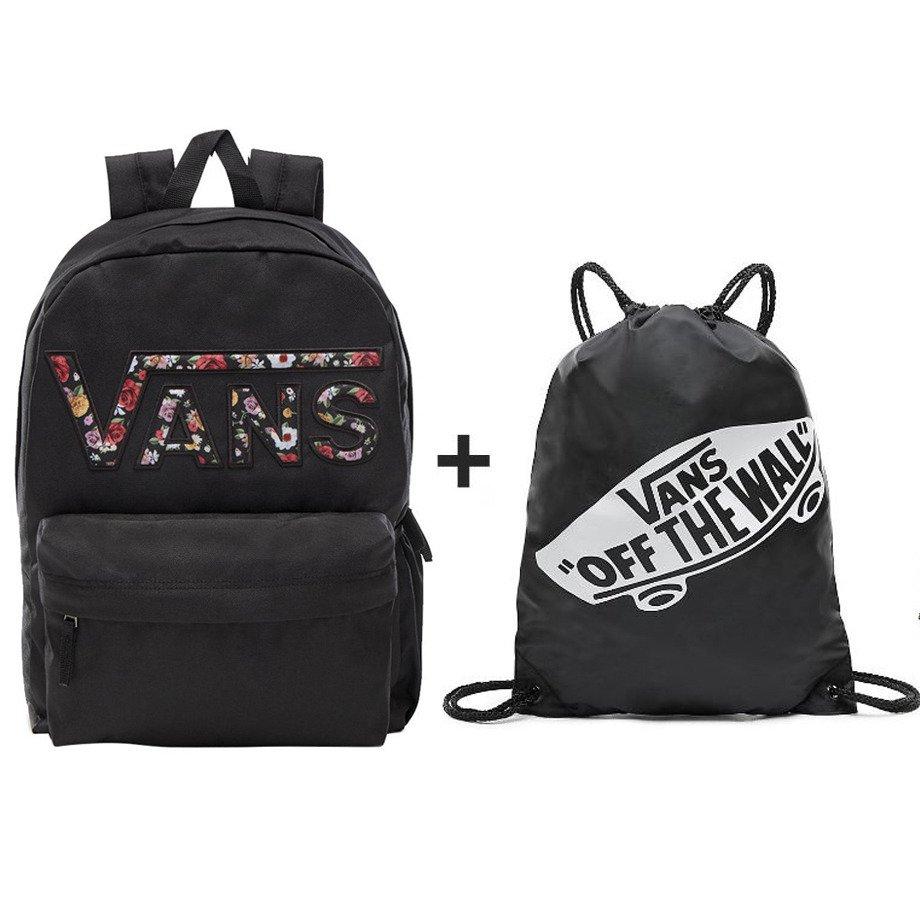 fc73997780d27 VANS Realm Backpack - VN0A3UI8YGL 004 + VANS Benched Bag ...