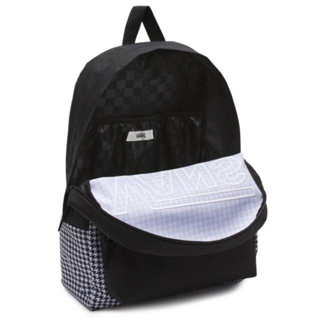 67e5c55fec9df ... VANS Realm Flying V Backpack - Houndstooth Black/White | VN0A3UI8YER 006