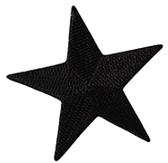 Black Star Thermal Patch