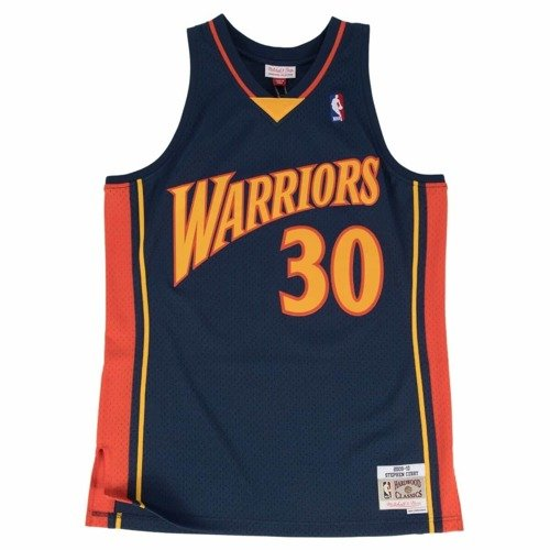Mitchell & Ness NBA GSW Stephan Curry Swingman - SMJYGS18170-GSWNAVY09SCU