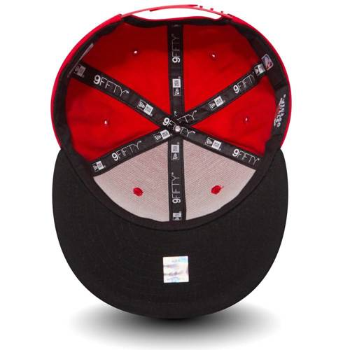 New Era 9FIFTY Chicago Bulls Essential Kids Red Snapback - 11530673
