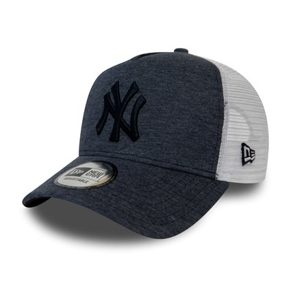 New Era MLB New York Yankees Clean A Frame Trucker Cap - 12040184