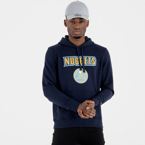 New Era NBA Team Denver Nuggets Logo Hoodie - 11546178