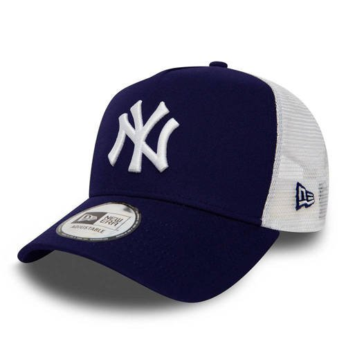 New Era New York Yankees Clean A Frame Trucker Adjustable Cap - 11588489