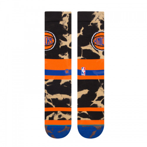 Stance NBA New York Knicks Acid Wash Socks - M558C18KNI