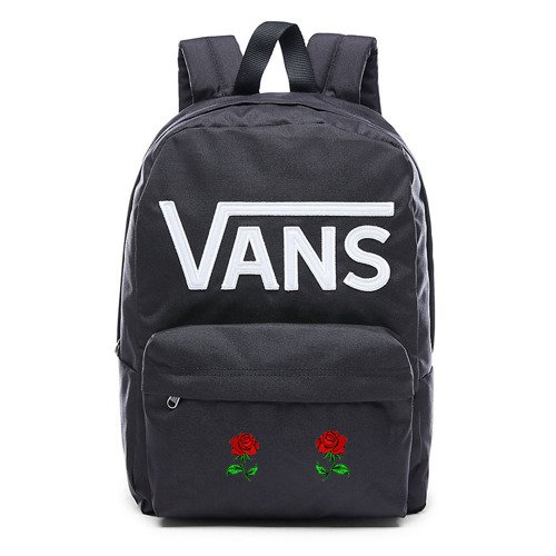 VANS - New Skool Backp Backpack Custom Roses - VN0002TLY28 000