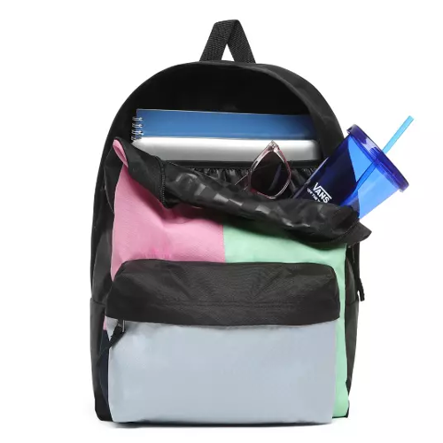 Vans Realm Checkwork Backpack - VN0A3UI6VDK + Gymsack + Pencil Pouch