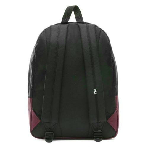 Vans Realm Prune Purple Black Backpack - VN0A3UI6TQR + Bag + Pancil Pouch