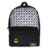Vans Glitter Check Realm Backpack - VN0A48HGUX9 - Custom Cool Smile