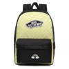 Vans Realm Lemon Tonic Checkerboard Backpack Custom Rainbow