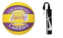 Spalding NBA Team Los Angeles Lakers Basketball + pump Nike