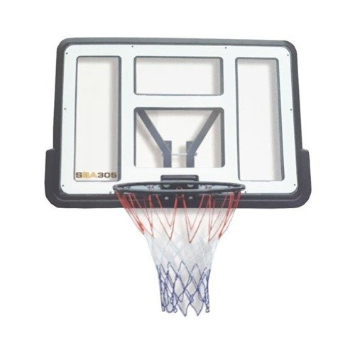 Basketball set Spartan Wall Mounted Backboard 1151 + Nike Baller 8P